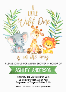 Safari Baby Shower Gifts on Zazzle.