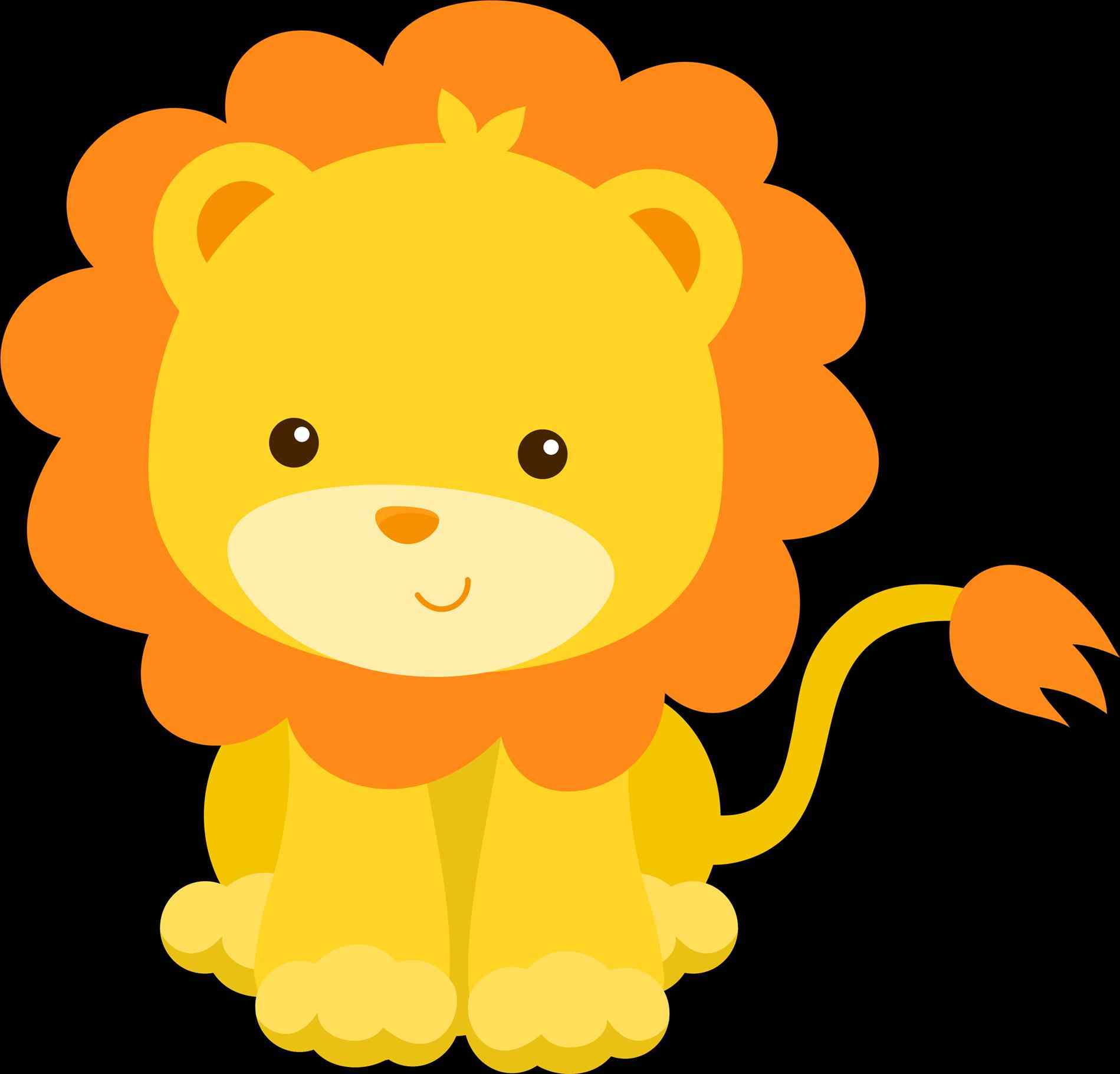 Baby Jungle Clipart.