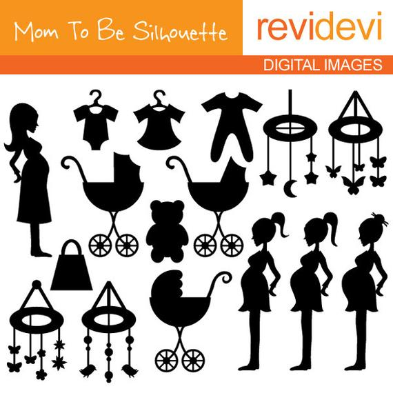 Baby shower clip art Bundle commercial use.