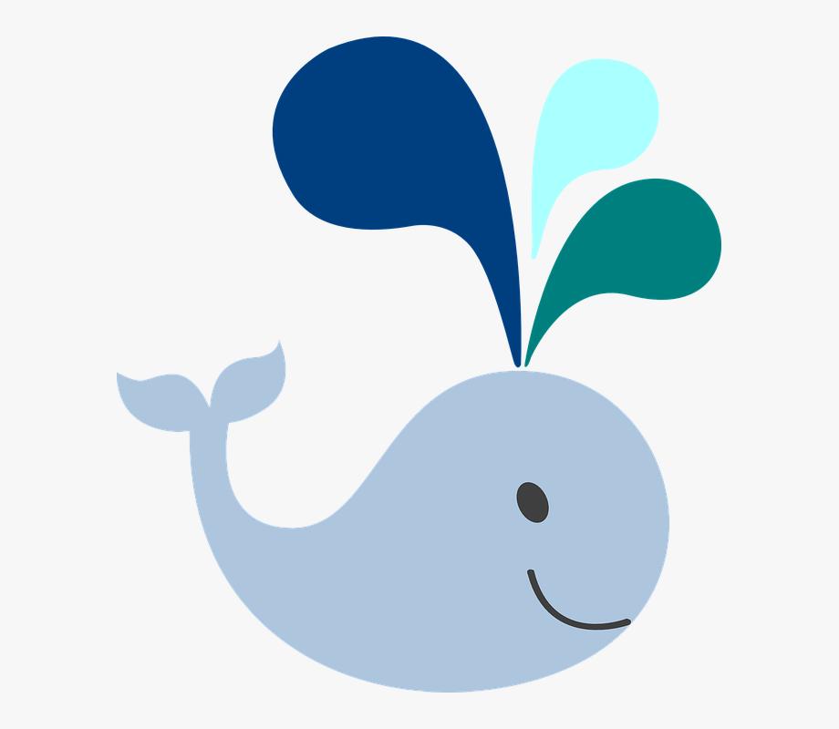 Whale Clip Art Little Light Blue.