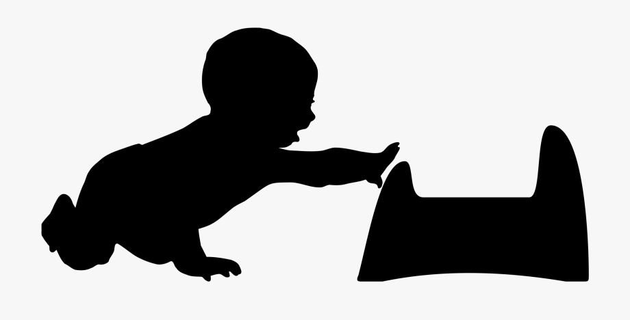 Baby Silhouette Png.