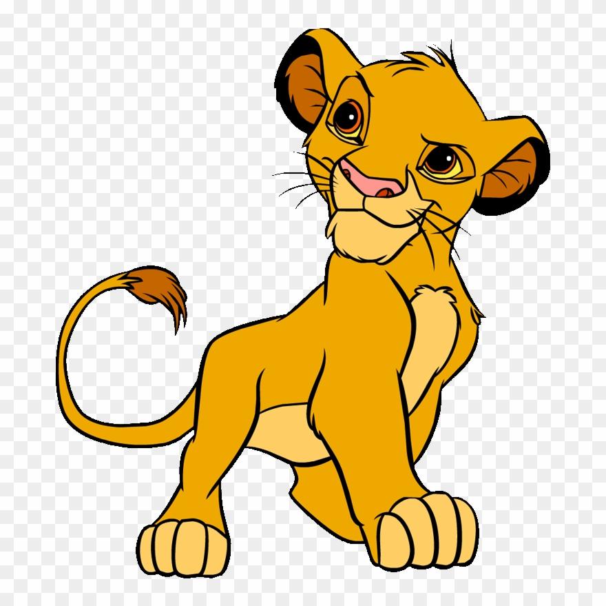 Simba Simba Lion, Baby Simba, King Simba, Lion King Clipart.