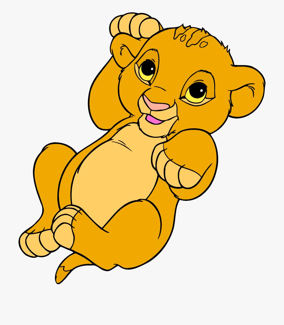 Simba Nala Lion Clip Art.