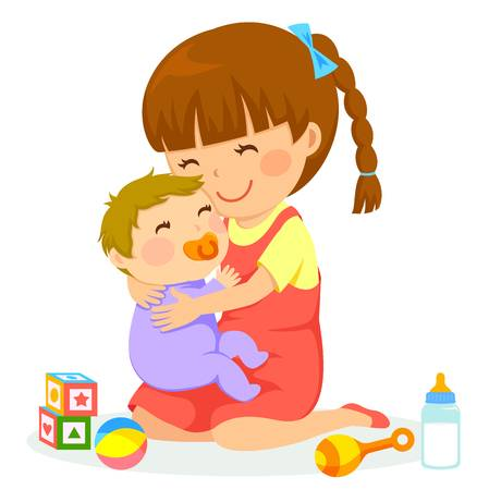 3,196 Babysitting Stock Illustrations, Cliparts And Royalty Free.