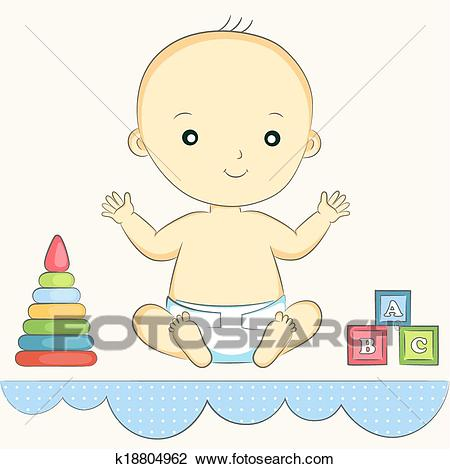 Baby sitting Clipart.