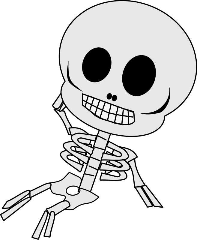 Free Funny Skeleton Cliparts, Download Free Clip Art, Free Clip Art.
