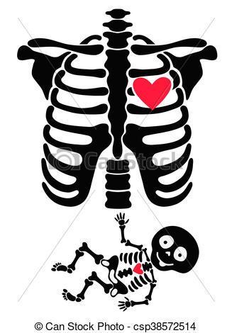Baby skeleton clipart 6 » Clipart Portal.