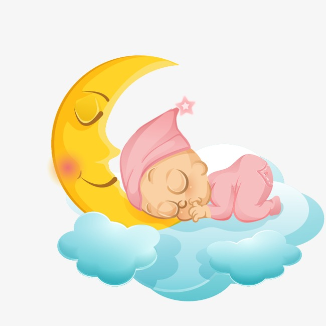 Baby Clipart Sleeping PNG And Vector For Free Download Unique Clip.
