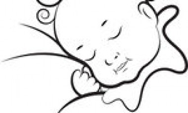 baby clipart black and white.
