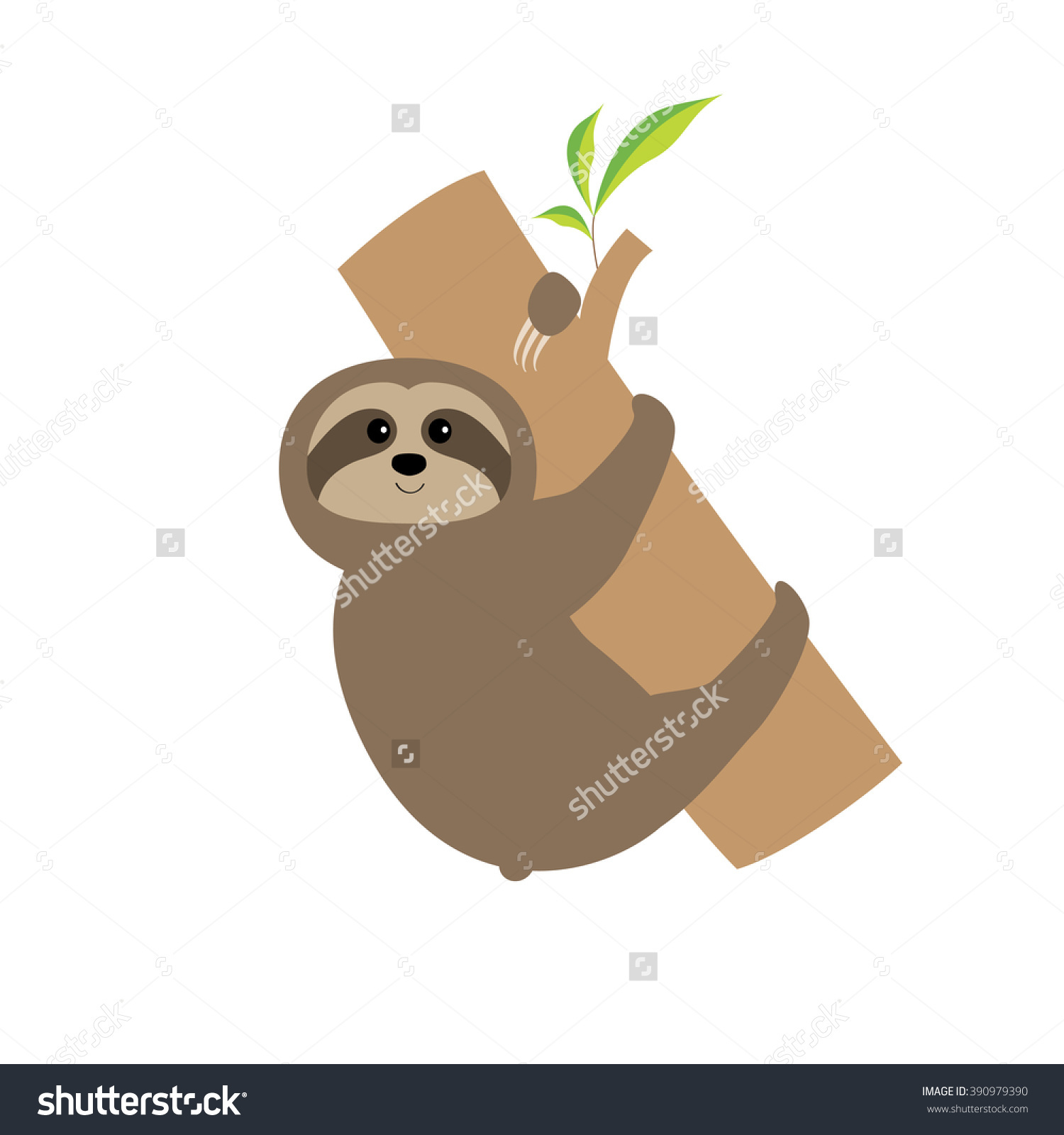 Showing post & media for Cartoon baby sloth.