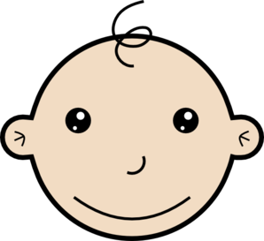 Baby Clipart Smile.