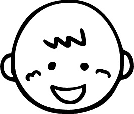 Baby Smile Clipart.