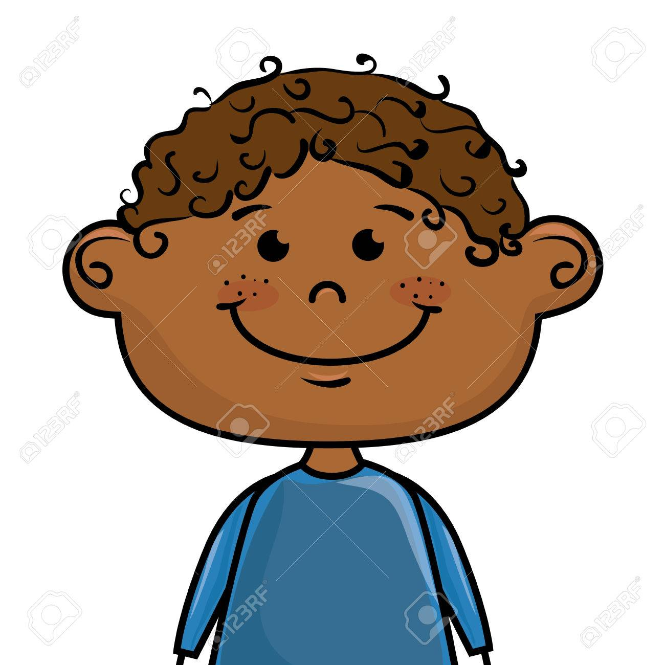 Child Happy Face Clipart.