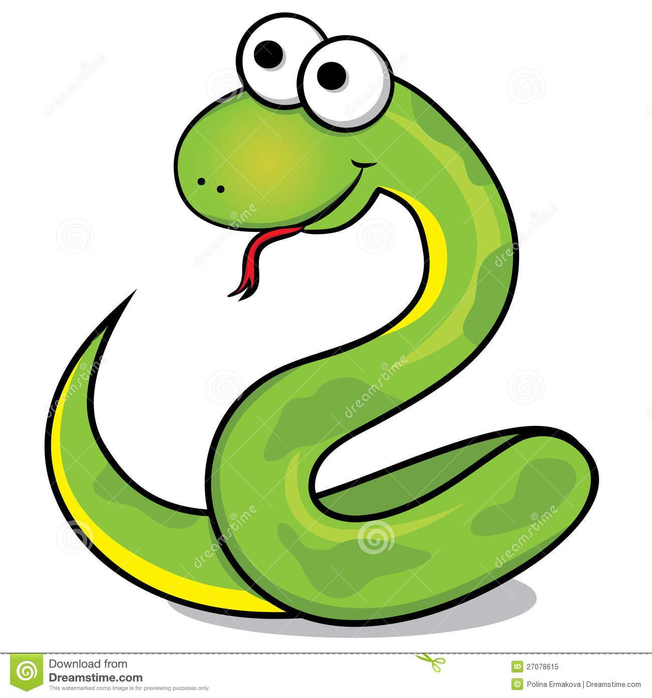 Snake Clipart Cute.