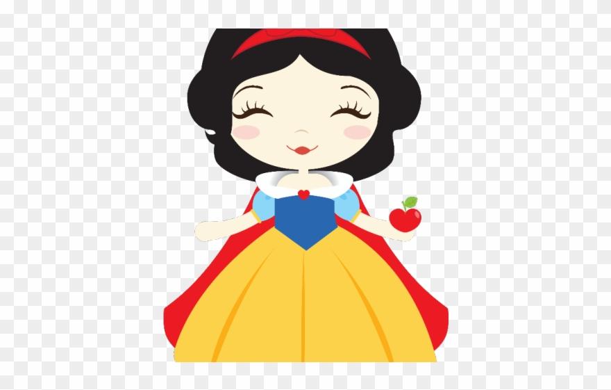 Snow White Clipart Baby Princess.