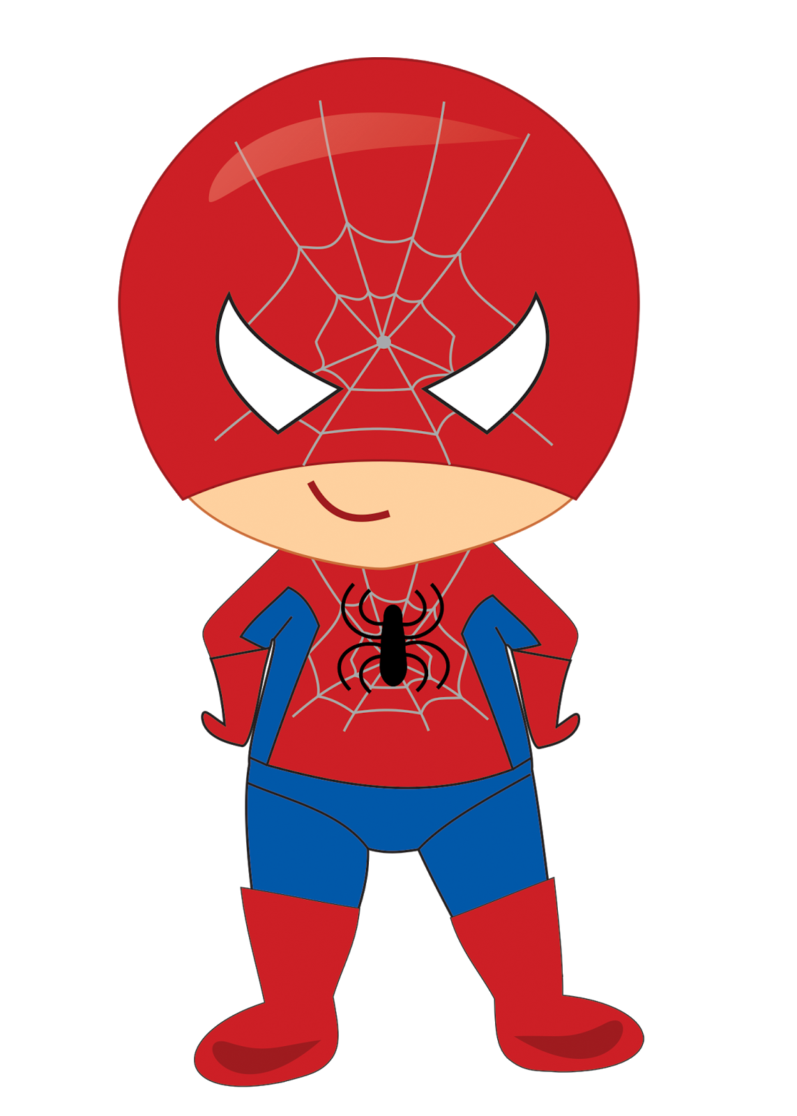 Baby Superheroes Clipart..