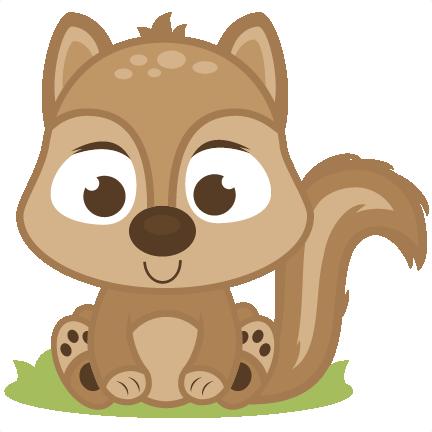 Baby Squirrel SVG cutting files deer svg cut file baby deer svg file.