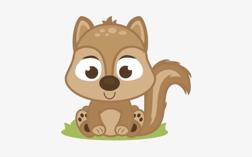 Baby Squirrel Clipart.