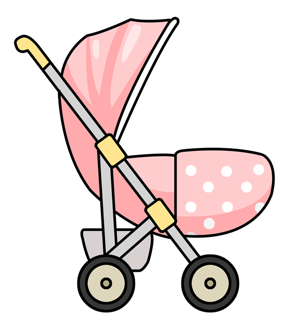 Baby Stroller Clipart.