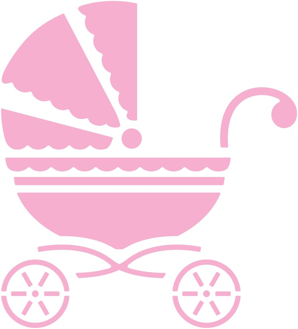Clip Art. Baby Carriage Clipart. Stonetire Free Clip Art Images.