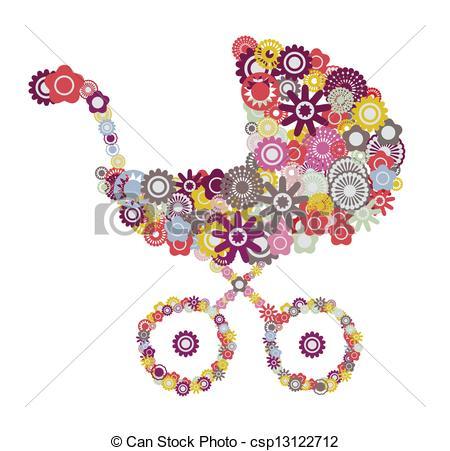 Stroller Clip Art and Stock Illustrations. 8,114 Stroller EPS.