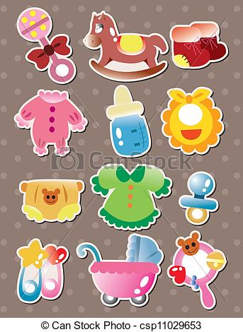 Baby stuff clipart 7 » Clipart Station.
