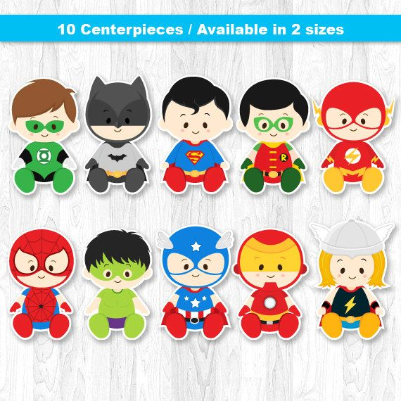 Baby superheroes clipart 8 » Clipart Station.