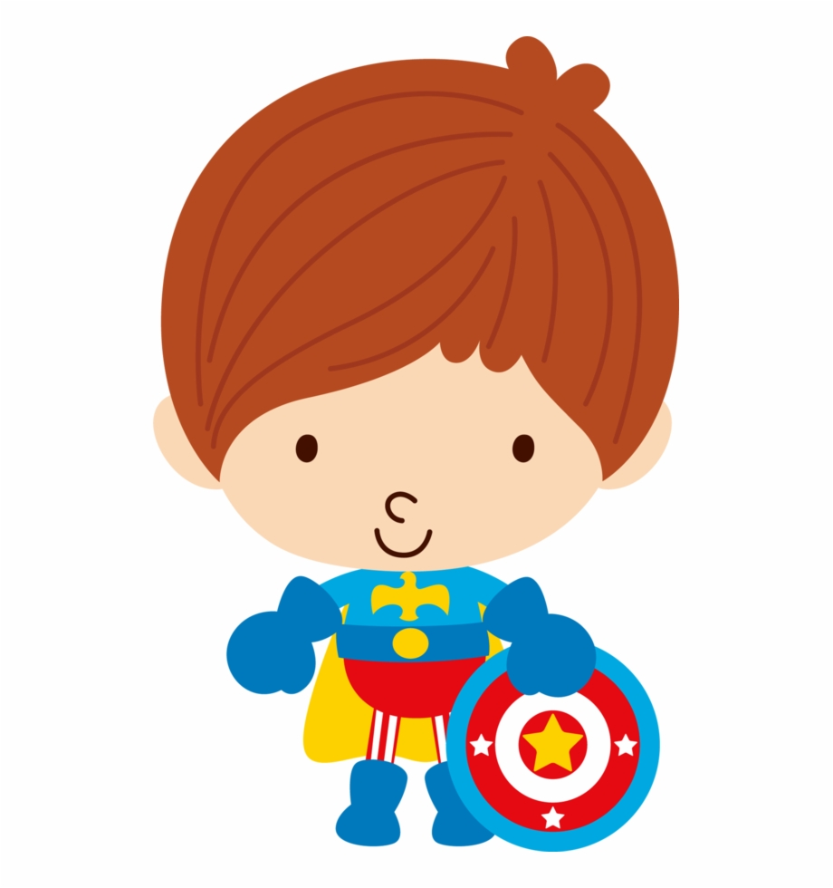 Graphic Black And White Library Baby Superheroes Clipart.