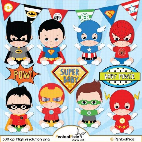 Baby superhero clipart 6 » Clipart Portal.