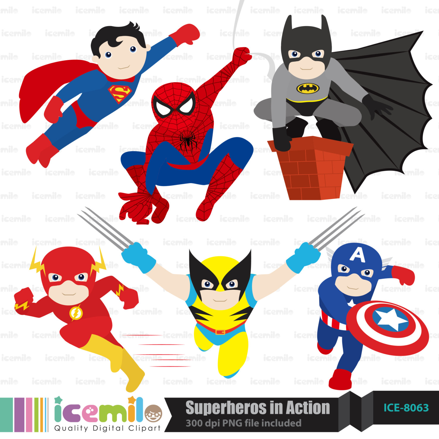 Baby Superheroes Clipart Viewing Gallery.