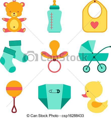 Baby stuff clipart 1 » Clipart Station.