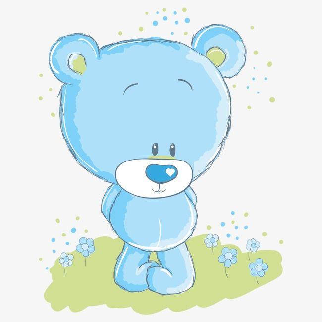 Cartoon Bear, Cartoon Clipart, Bear, Teddy Bear PNG.