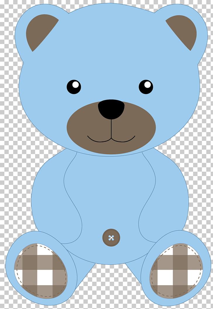 Teddy bear Baby blue , bear PNG clipart.