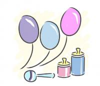 Baby Shower Clip Art to Use on Invitations and More.