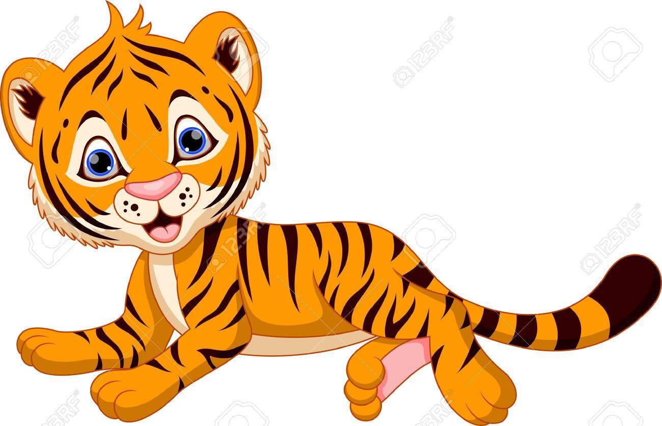 Cute baby tiger clipart 8 » Clipart Portal.