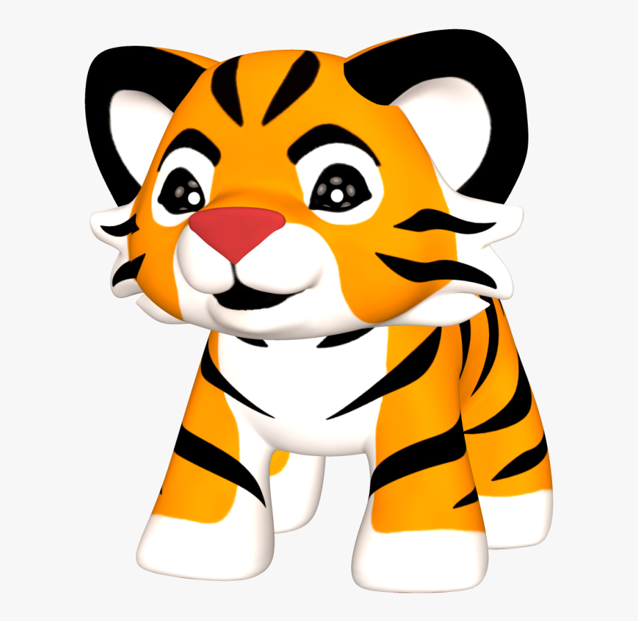 Baby Tiger Clipart Png.