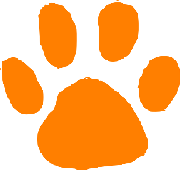 6451 Tiger free clipart.