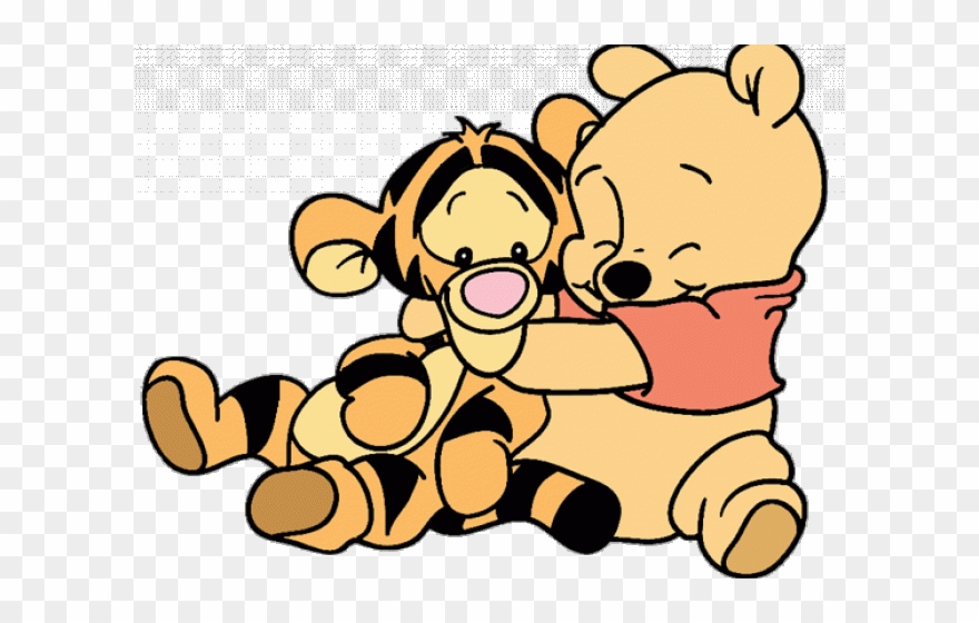 Baby Winnie The Pooh And Tigger Clipart (#2090846).