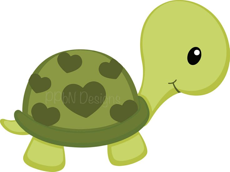 Baby Turtle Cliparts 2.