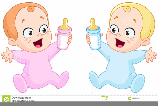 Baby twins clipart 4 » Clipart Portal.