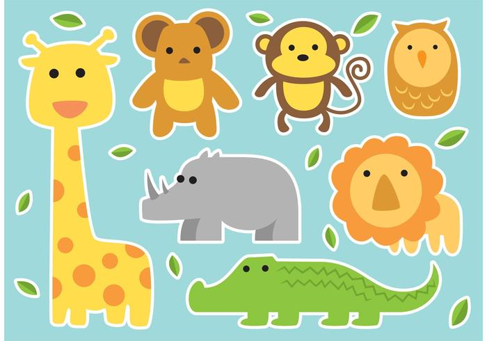 Baby Vector Animals.