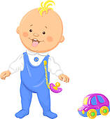 Walking baby clipart 4 » Clipart Station.