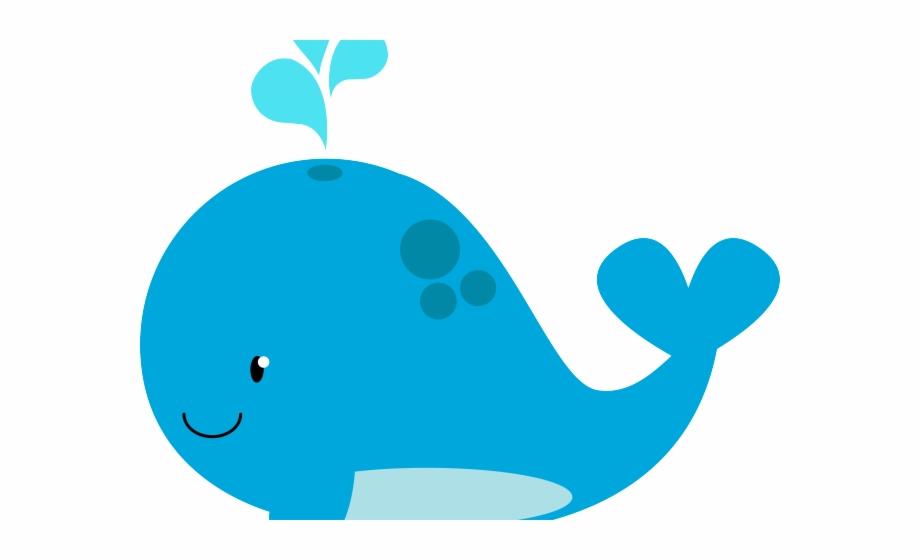 Blue Whale Clipart Beach Whale.
