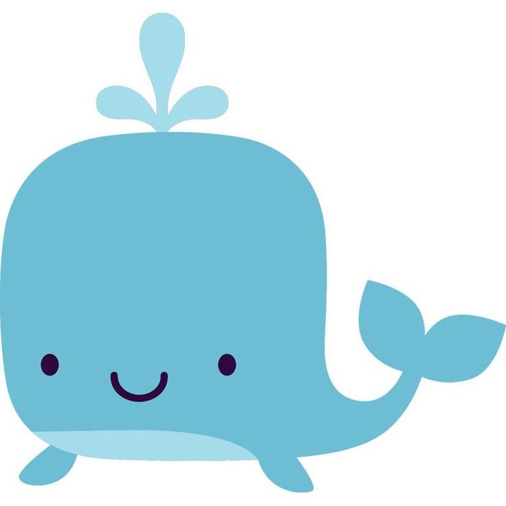 Pin Whale Clipart Green Baby #9.