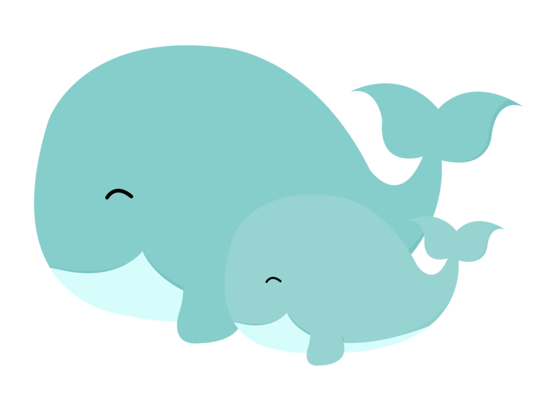 Download Free png Baby Whale Clip Art.