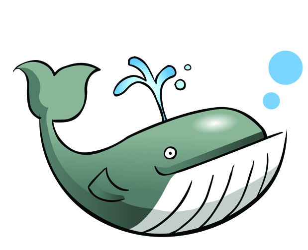 Baby whale clip art free clipart images 2.