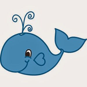 Baby Whale Clip Art Free Clipart.