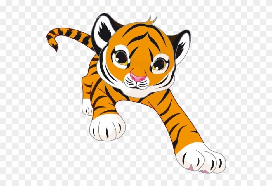 Tiger Cubs Cat Cartoon Images Valentine Cat Clip Art.