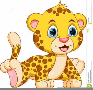 Baby Wildcat Clipart.