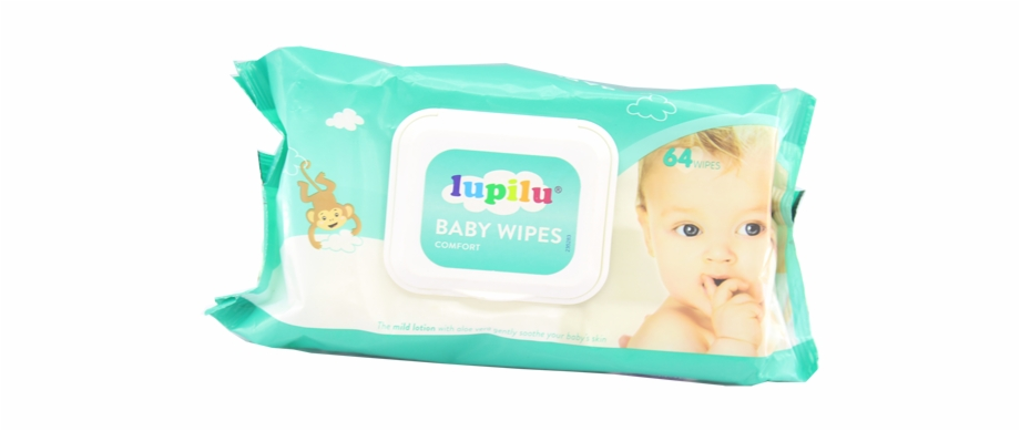 Lupilu Baby Wipes Comfort 64 Wipes.